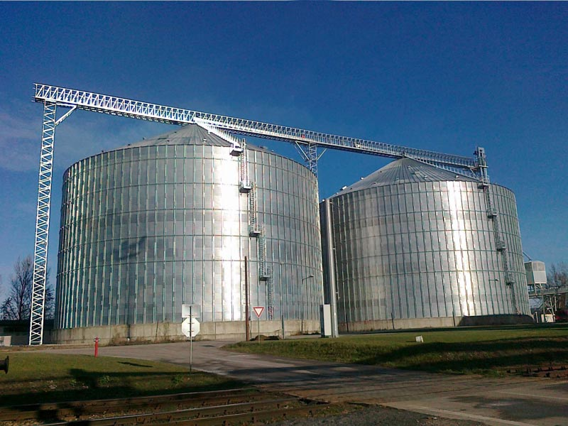 Main trends in the grain storage industry: silos of bigger
