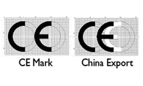 China Export is not CE: a symbol to cause confusion