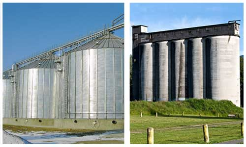 Advantages of a Steel Silo vs. a Concrete Silo for grain storage