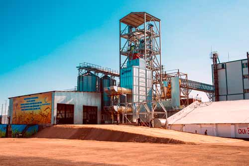 New and innovative storage plant installed in Kazakhstan by Silos Cordoba