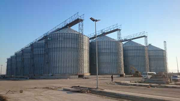 Installation of NKF Grain Silos in Iran at an advanced stage