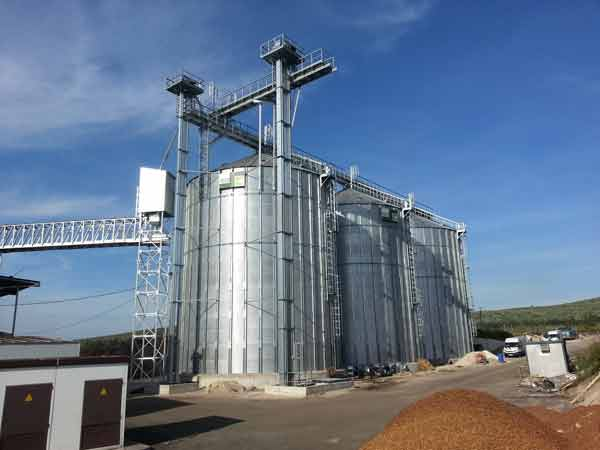 Silos for Grapeseeds storage