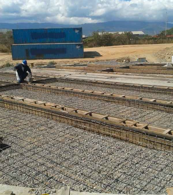 Assembly of an Animal Feed Processing Plant in Venezuela