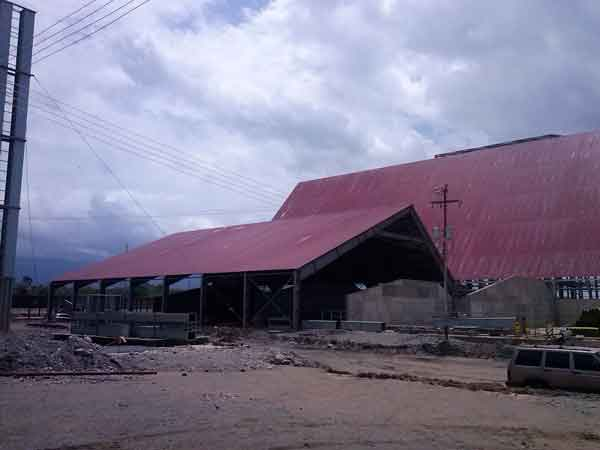 9 Subproduct warehouse for feed processing plant