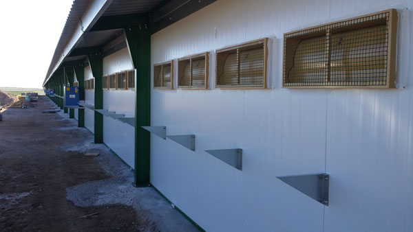 Poultry House Spain