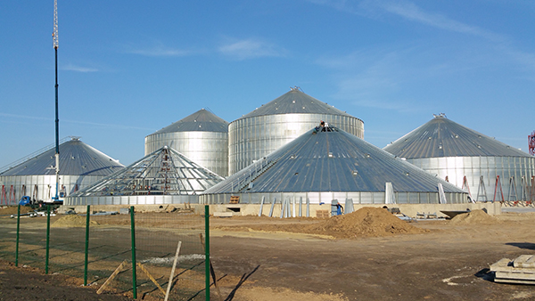 Indeika Grain Storage Facility Starts to Take Shape in Russia