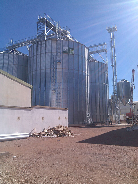 Grain Storage Facility in Morocco