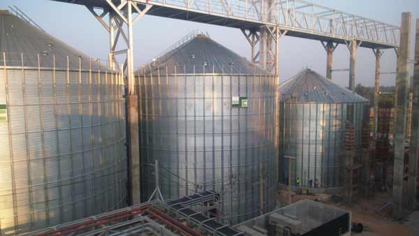 New Rice Storage Facility in Thailand