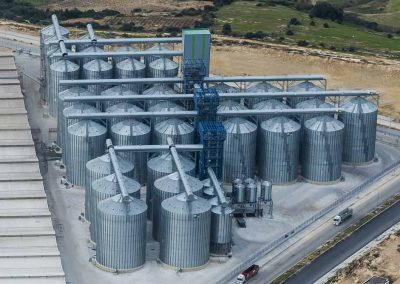Grain silos Tiryaki_Turkey
