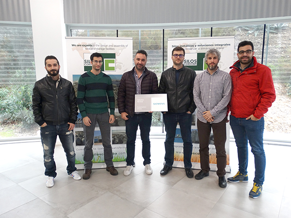 Silos Cordoba team receives Siemens certification