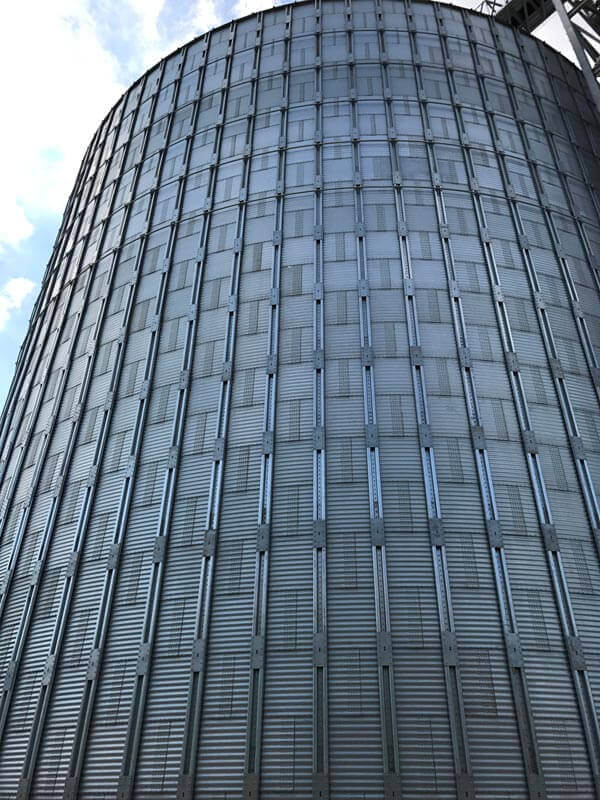 Completion of the largest silo on the African continent