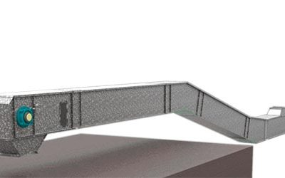 The New Z-Shaped Chain Conveyor Provides Big Savings in Civil Works