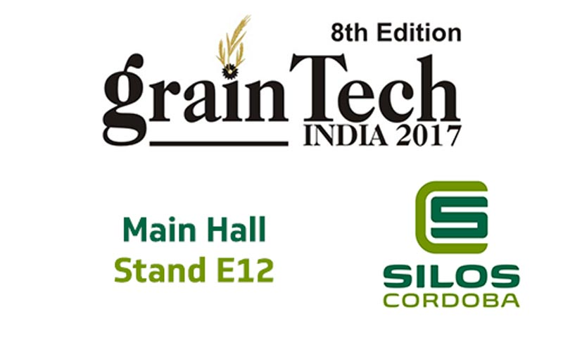 Estaremos exponiendo en Graintech India 2017