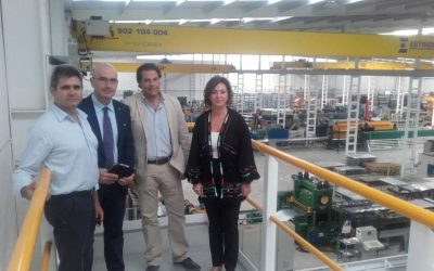 The Mayor of Córdoba and the Delegate of Economy Visit the New Silos Córdoba's Headquarters