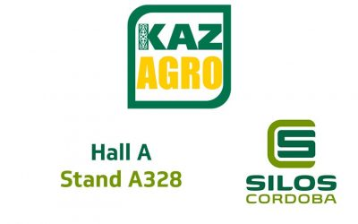 Customised grain storage solutions at Kazagro 2017, Kazakhstan
