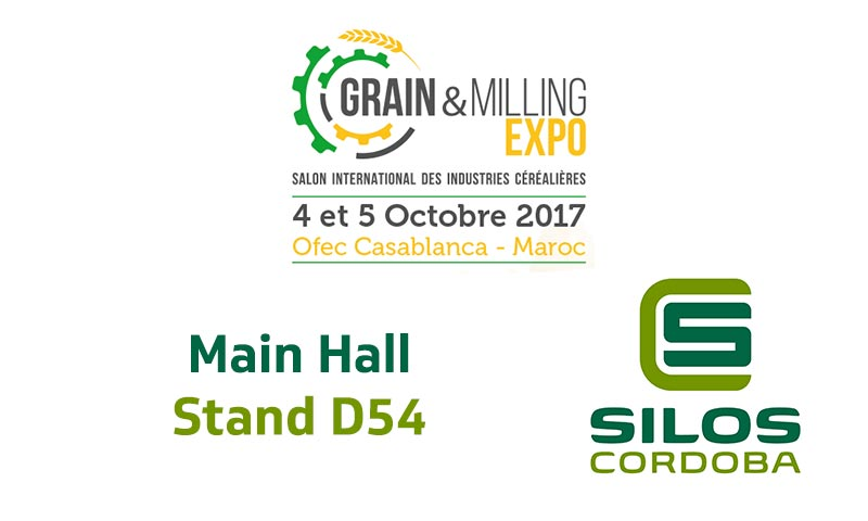 We'll be showcasing our grain storage systems and turn-key projects at Grain & Milling Expo 2017