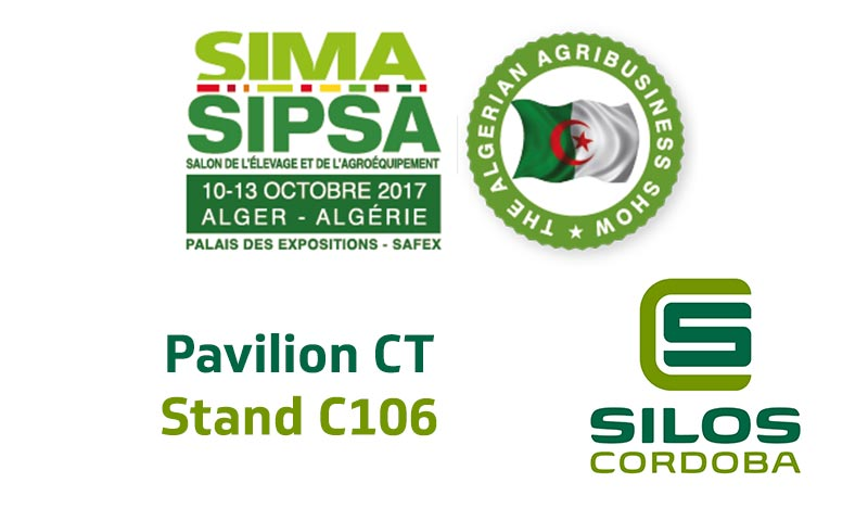 Silos Córdoba will be exhibiting at SIMA-SIPSA in Algeria