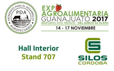 We'll be exhibiting at Expo Agroalimentaria 2017, Mexico