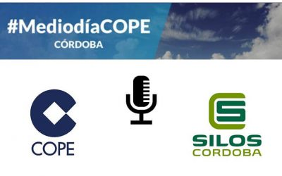 """What technology is behind grain storage"" explained on COPE Córdoba Radio"