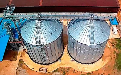 The sorghum grain storage facility in Kaduna, Nigeria is now operational