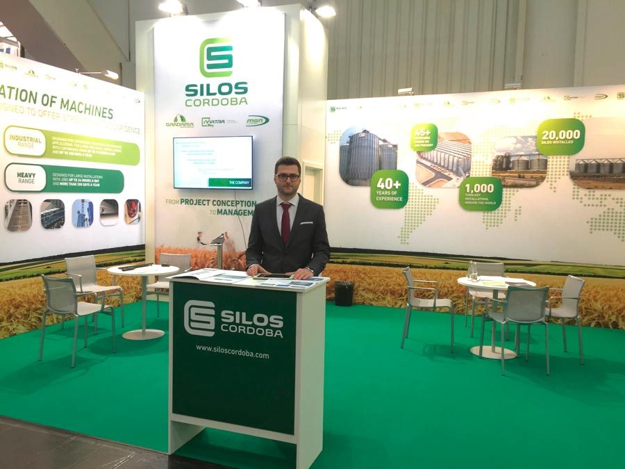 Tigran Kazarian has been appointed Silos Córdoba's Sales Director for Western Europe