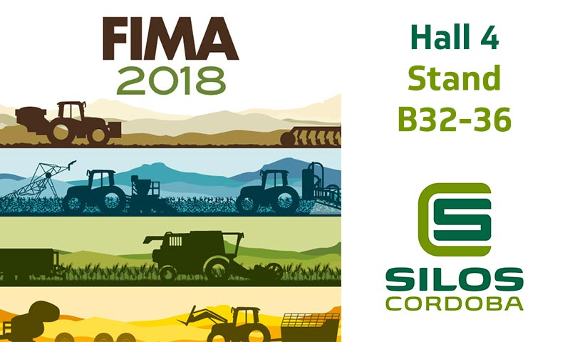 We'll be showcasing our grain storage systems and turnkey projects at FIMA Zaragoza