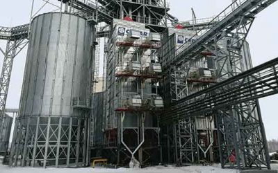 Storage Plant in Russia