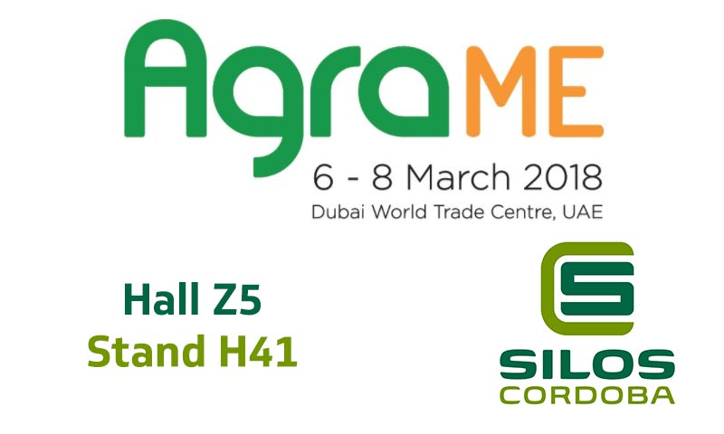 We'll be exhibiting at AGRAME in United Arab Emirates
