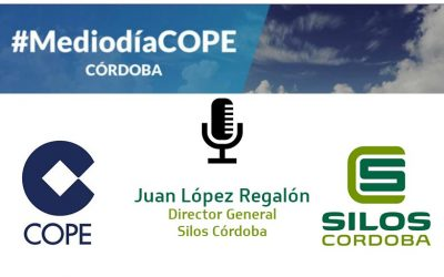 """Trend towards monitoring and effective data control for the management of grain storage facilities"", Juan López on Cope radio"