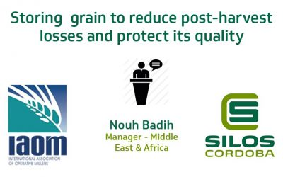 How to store grain to reduce post-harvest losses and protect its quality