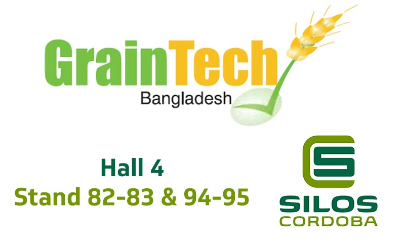 We'll be exhibiting our grain storage solutions at GrainTech Bangladesh 2018