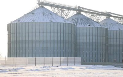 Wheat storage project in Kazakhstan