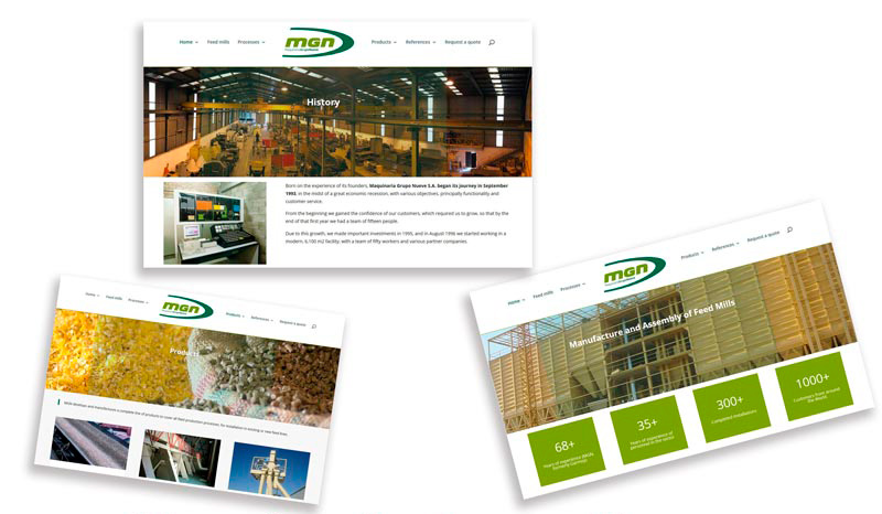 Announcing the new website of our company, MGN, specialising in feed mills