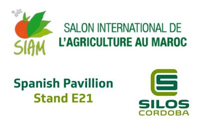 We'll be showcasing our grain storage systems at SIAM 2018