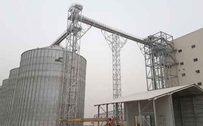 Grain storage plant in Nigeria