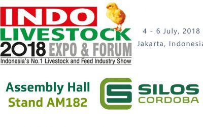 We'll be exhibiting at INDO LIVESTOCK in Jakarta, Indonesia