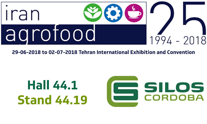 We'll be exhibiting at IRAN AGRO in Iran