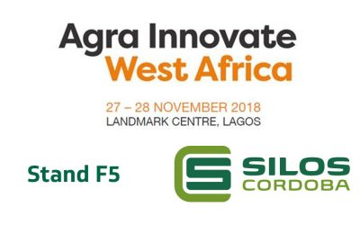 Silos Cordoba will be exhibiting at AGRA INNOVATE 2018 in Lagos, Nigeria