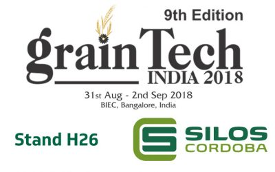Looking forward to showing you our grain storage solutions at GrainTech India 2018