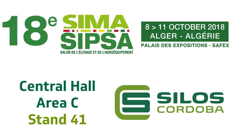 We'll be exhibiting at SIMA Sipsa in Algeria