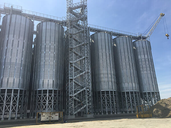 Turn-key grain terminal in Antwerp, Belgium