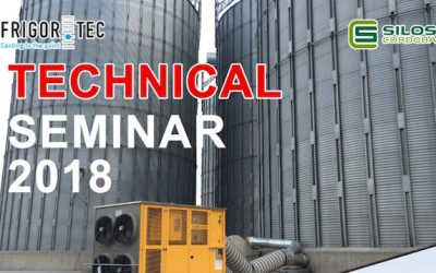Technical Seminar on grain storage and cooling technology