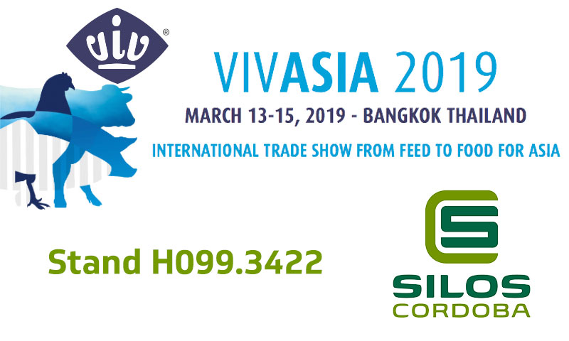 We will be exhibiting at VIV ASIA 2019 in Bangkok, Thailand