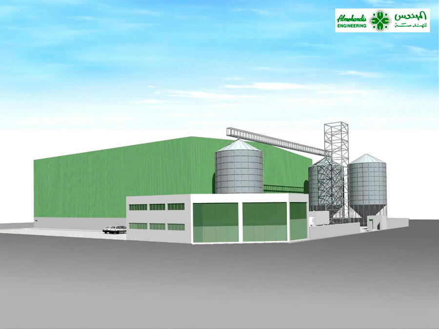 BAFCO's Pulse Processing Plant in Bahrain is under construction