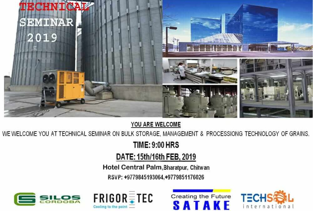 Technical Seminar on grain storage, management and processing technology in Nepal