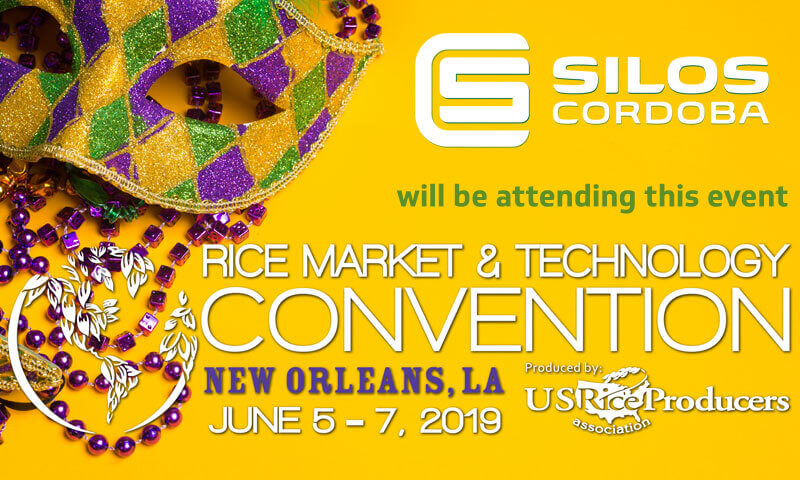 We'll be attending the Rice Market and Technology Convention in New Orleans