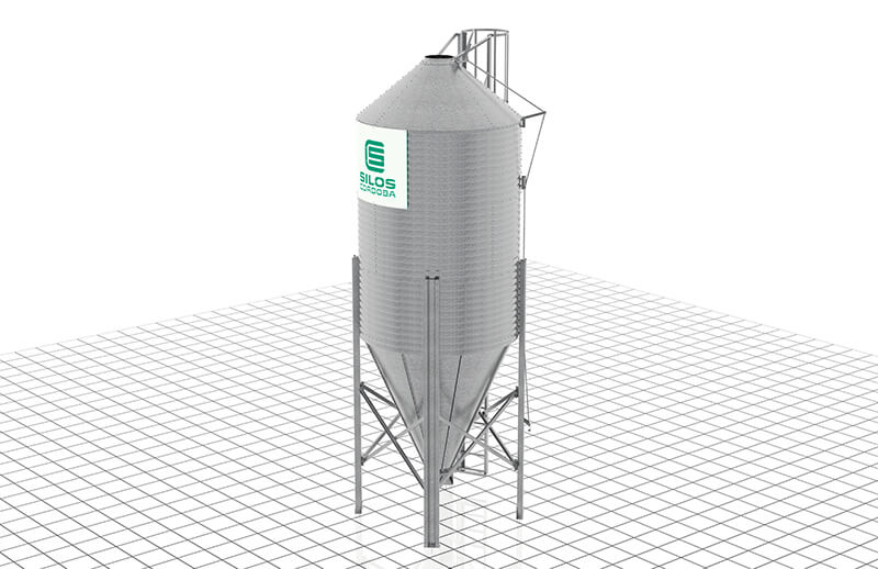 Silos Córdoba develops new models of farm silos with safer top access, easier to transport and assemble