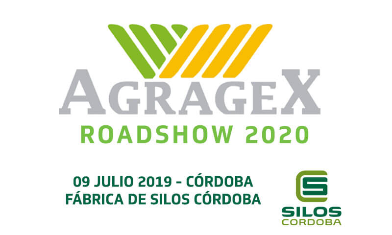 AGRAGEX's Road Show 2020 will be stopping at Silos Córdoba on July 9