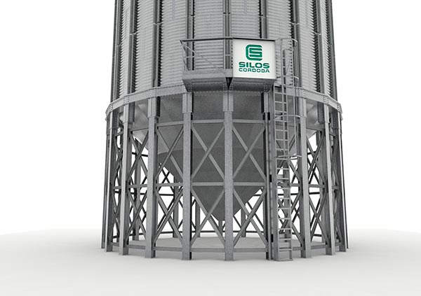 Silos Córdoba redesigns the hopper silo to make assembly easier