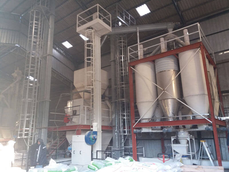 Poultry Feed Mill in Chile